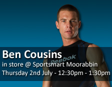 Ben Cousins in store