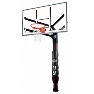 Spalding Glass 72 Arena View Inground Basketball System
