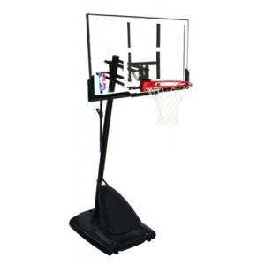 Spalding Platinum Series 54 Acrylic Basketball System
