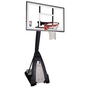 Spalding The Beast 60 Glass Portable Basketball System