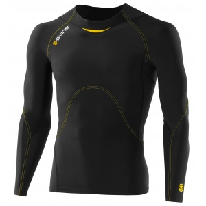 Skins A400 long sleeve compression top, mens