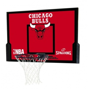 Spalding NBA Chicago Bulls 44 Advance Backboard Combo