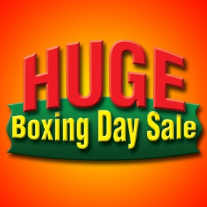 Huge Boxing Day Sale