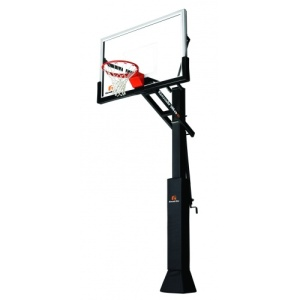 "Goalrilla CV Glass 60"" Inground Basketball System"