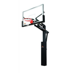 "Goalrilla DC Glass 72"" Inground Basketball System"